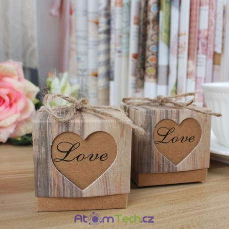 7ee4ee5a5b 10 ks svatebních krabiček