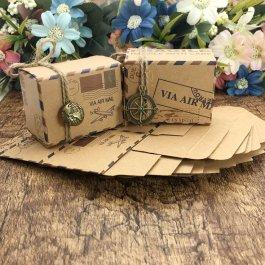 Ozdobné krabičky - 50 ks