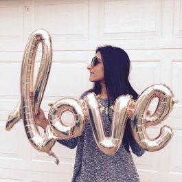 Velký balónek Love