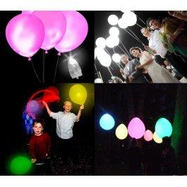 Svítící lampy do balónku 100 ks
