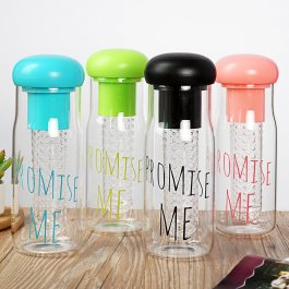 Plastová láhev Promise me