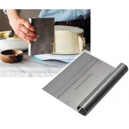 Deska na pečení s pravítkem