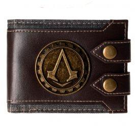 Hnědá Assassin's Creed peněženka