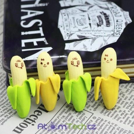 Gumovací banány 4 ks