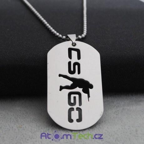 Náhrdelník vojenská známka CS GO