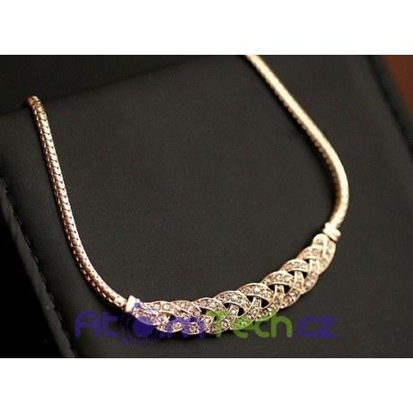 Přeplétaný náhrdelník