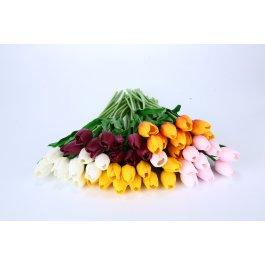 Umělé tulipány 30 ks
