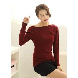 Elegantní kašmírový svetr