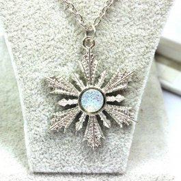 Elsa náhrdelník - sněhová vločka
