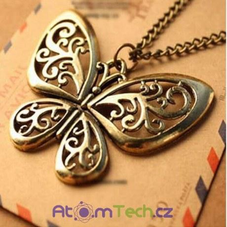 Bronzový motýl
