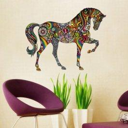 Samolepka Barevný kůň
