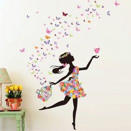 Plakát Motýlí slečna
