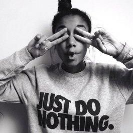Mikina JUST DO NOTHING