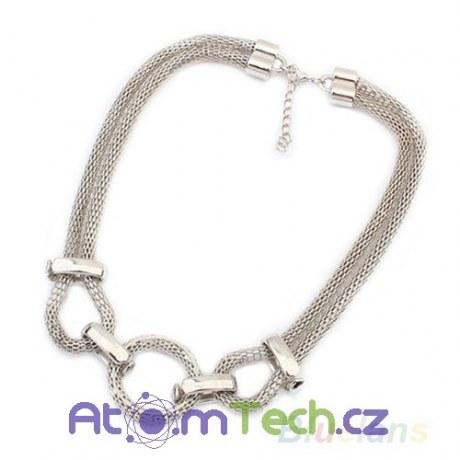Masivní řetězový náhrdelník