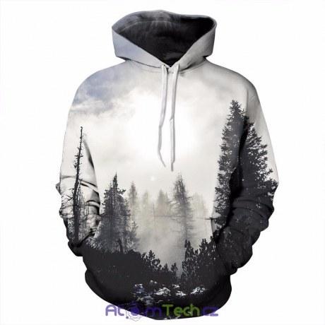 Mikina Mlžný les