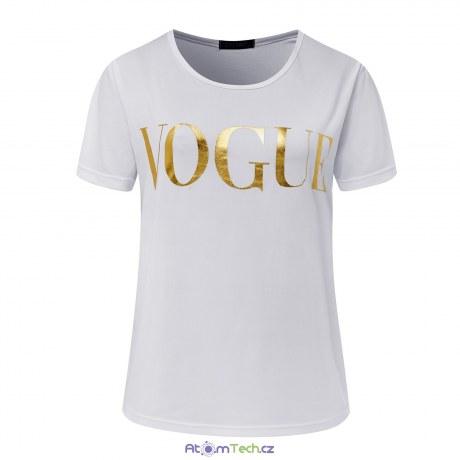 Tričko s nápisem VOGUE
