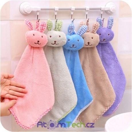 Dětský ručník se zvířátky