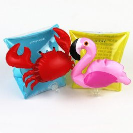 Nafukovací rukávky Plaměňák a Krab