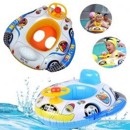 Nafukovací auto do vody