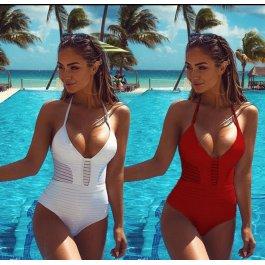 Jednodílné plavky modelující postavu