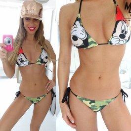 Army plavky Mickey a Minnie