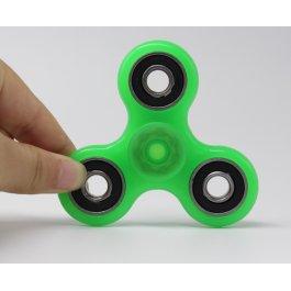 Zelený svítící Fidget Spinner
