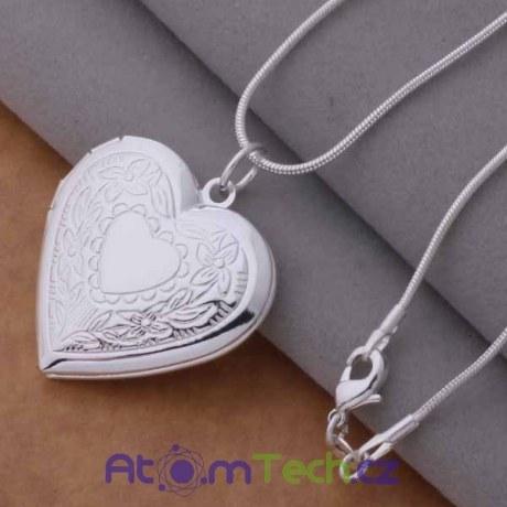 Medailon srdce