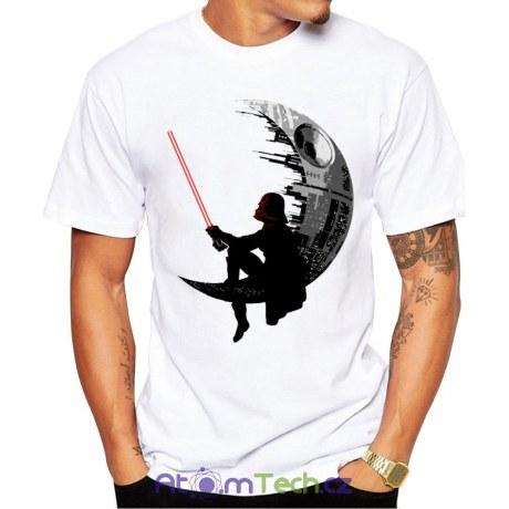 Pánské tričko Darth Vader na Death Star