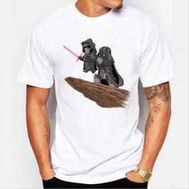 Pánské tričko Darth Vader a Kylo Ren