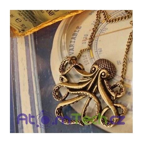 Náhrdelník Chobotnice Davy Jones