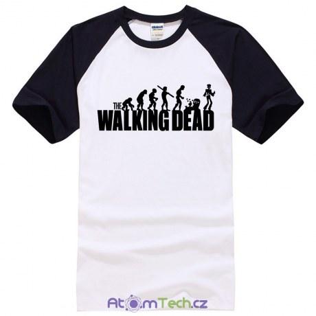 Tričko The Walking Dead evoluce