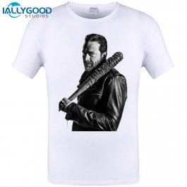 Bílé tričko Negan