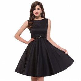 Klasické retro šaty s páskem