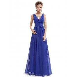 Decentní plesové šaty (7 barev)
