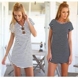 Námořnické krátké šaty