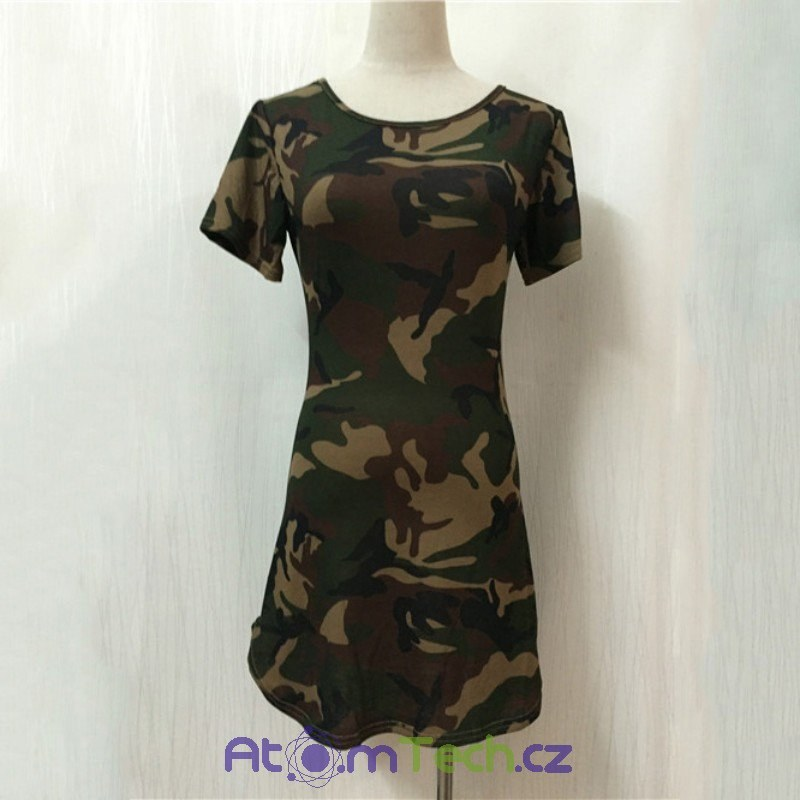 Army mini šaty ea4b428df7