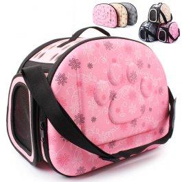 Praktická cestovní taška pro mazlíčka
