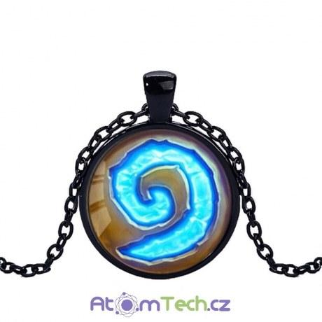 WoW skleněný náhrdelník