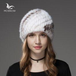 Luxusní norková čepice