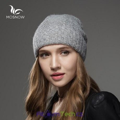 Kašmírová luxusní čepice