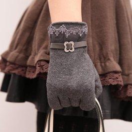 Elegantní rukavičky s krajkou