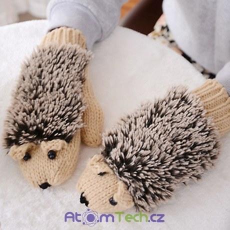 Rukavice ježeček