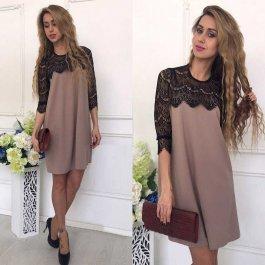 Luxusní šaty s krajkovými rukávy