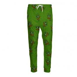 Zelené tepláky Žabák Pepe