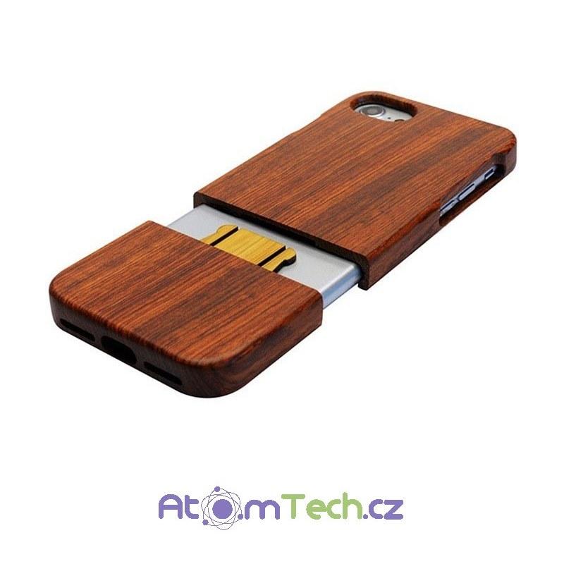 Dřevěný kryt pro iPhone 01466ce9173