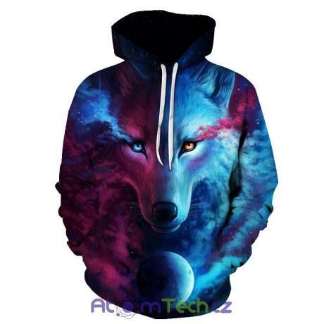 e98e494e4d4 Mikina Space Wolf