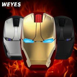 Bezdrátová optická myš Iron Man
