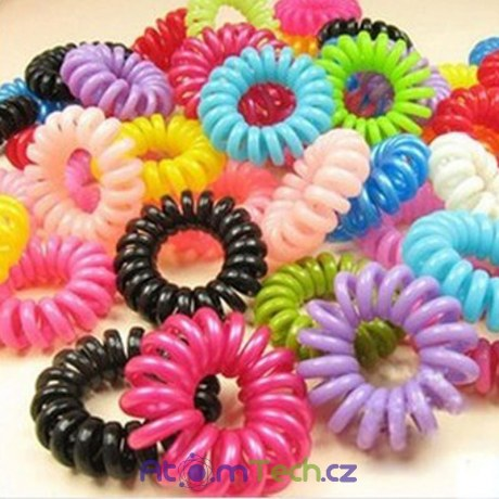 30 ks barevných gumiček