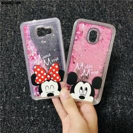 Kryt s třpytkami pro Samsung Mickey a Minnie