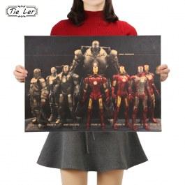 Plakát obleků Iron man